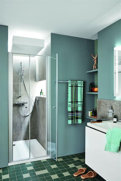 Kleine Badezimmer Mit Dusche Und Waschmaschine