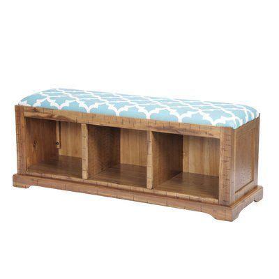 Kleinman Hall Solid Wood Storage Bench