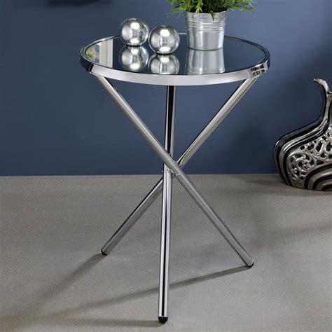 Klinger Modern Metal End Table