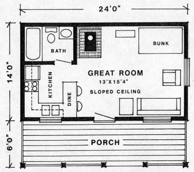Klondike Cabin Plans
