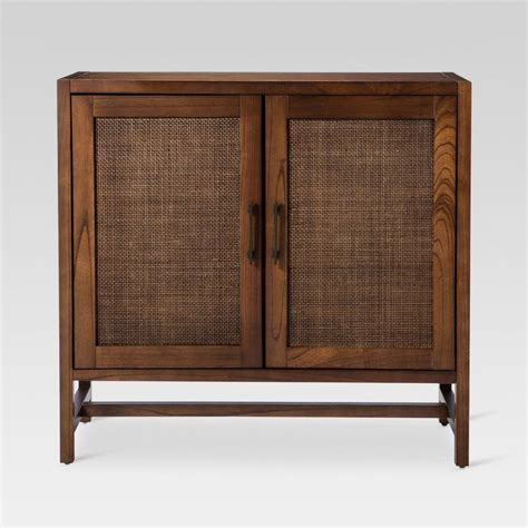 Klucevsek Hardwood Flat Panel 2 Door Accent Cabinet