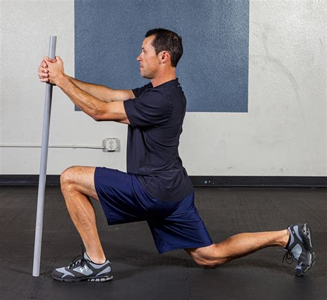 kneeling hip flexor stretch muscles procerus muscles of the human