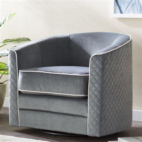 Koehler Swivel Barrel Chair