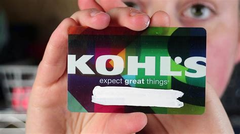 Kohls Credit Card Black Friday Benefits For Kohls Charge Customers
