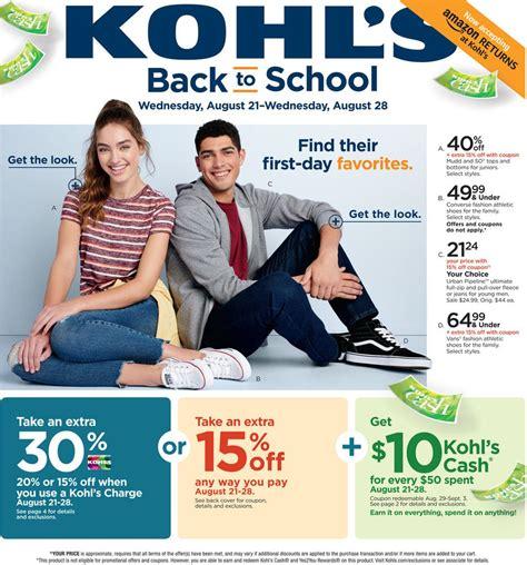 Kohls Credit Card Dispute Address Kohls Weekly Ad Kohls Circular Kohls Sunday Ad Kohl