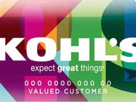 Kohls Credit Card Black Friday My Kohls Charge Card Kohls