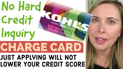 Kohls Credit Card Hard Pull Shopping Cart Trick 2018 Apply For Credit Cards Without
