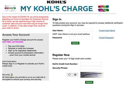 Kohls Credit Card Black Friday Sign In