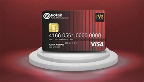 Ing Credit Card Lost Kotak Credit Card