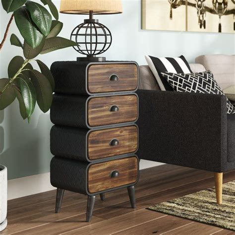 Krish Rounded 3 Drawer Chest
