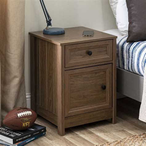 Krystina 1 Drawer Nightstand
