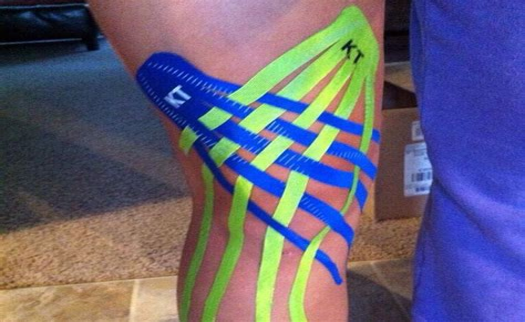 kt hip flexor tape video meniscus repair