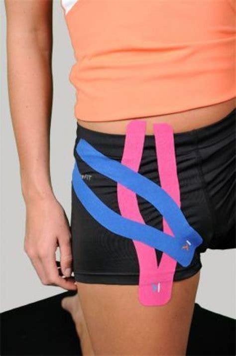 kt tape for inner hip flexor pull back email sent