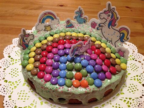 Kuchen Bestellen Geburtstag Smarties Kuchen Von Letta22   Chefkoch De