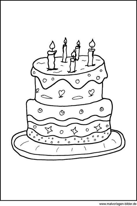 Kuchen Bilder Geburtstag Geburtstag Malvorlagen Kostenlos Zum Ausdrucken