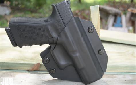 Glock-19 Kydex Owb Holster For Glock 19.