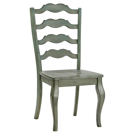 Ladderback Solid Wood Dining Chair (Set of 2)