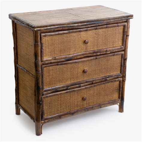 Lagoudera Bamboo 3 Drawer Accent Chest