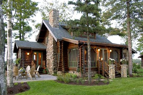 Lake Cabin Floor Plans