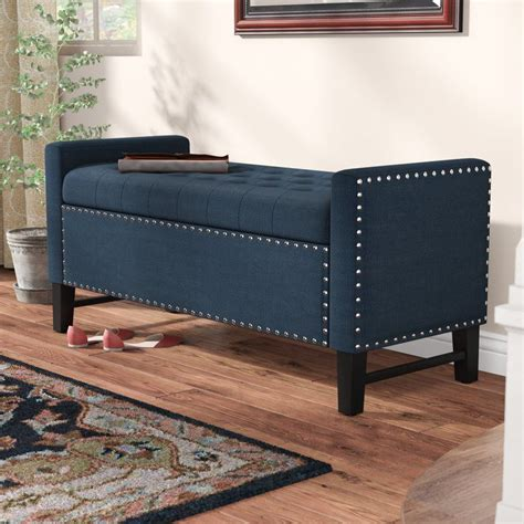 Lamothe Button Tufted Storage Bench
