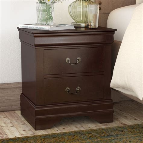 Lampkins 2 Drawer Nightstand