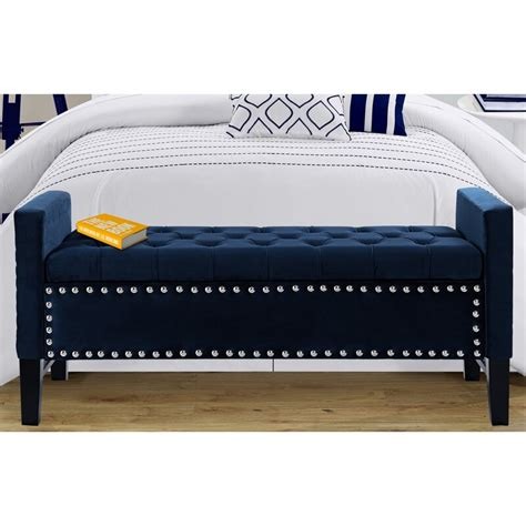 Lance Upholstered Storage Bench