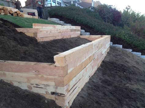 Landscape Timbers Projects