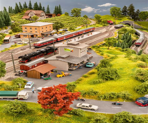 Landschaftsbau Modell