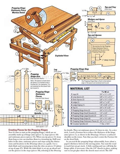 Lap Desk Plans Woodworking