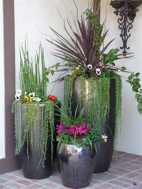 large pots for flowers