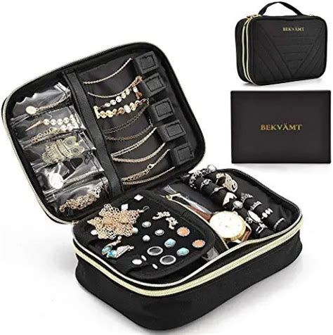 large travel jewelry organizer