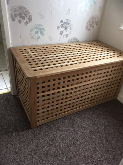 large wooden toy box ikea