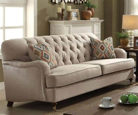 Large Sofa Bed With Chaise 20 Types Of Sofas Couches Explained With Pictures