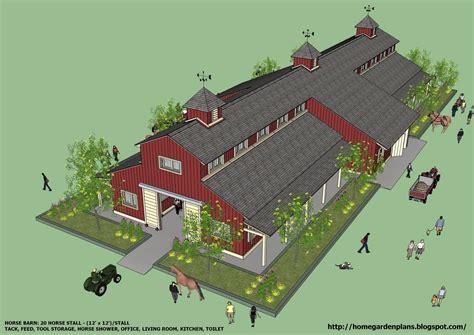 Large Barn Plans