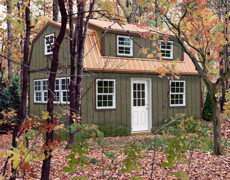 Large Storage Sheds With Loft