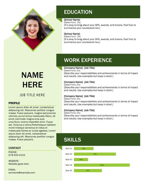 Latest Resume Format 2013 Doc Download 12 Free Microsoft Office Docx Resume And Cv Templates