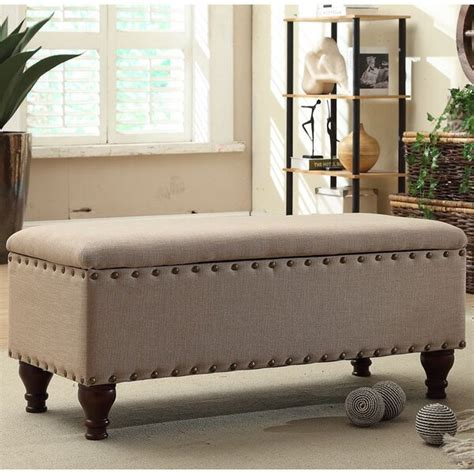 Lattimer Upholstered Storage Bench