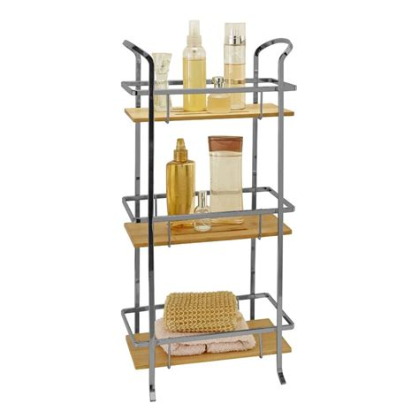 Laura Ashley Natural Bamboo 3 Tier Spa Tower