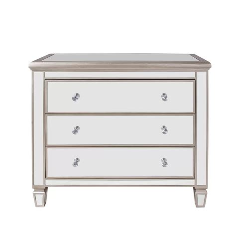 Laurine 3 Drawer Accent Chest