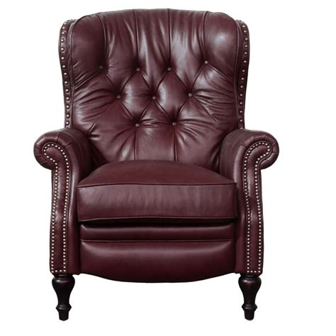 Lavoie Leather Manual Recliner
