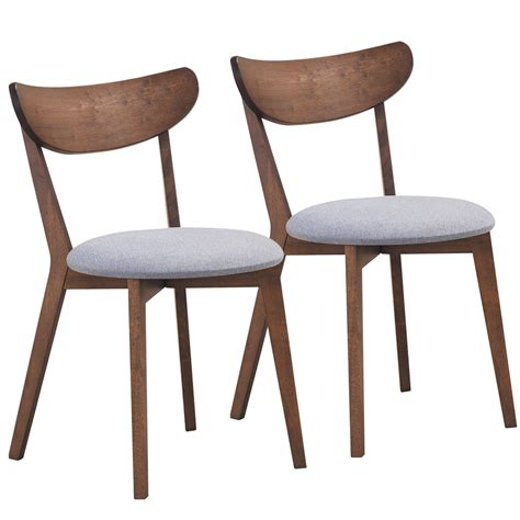 Lavonna Curved Back Solid Wood Dining Chair (Set of 2)