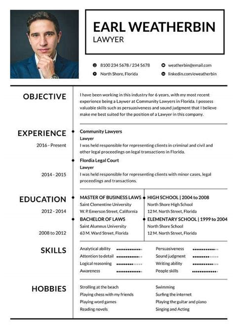 Commercial Lawyer Cv Sample Law Cv Template Allaboutlaw
