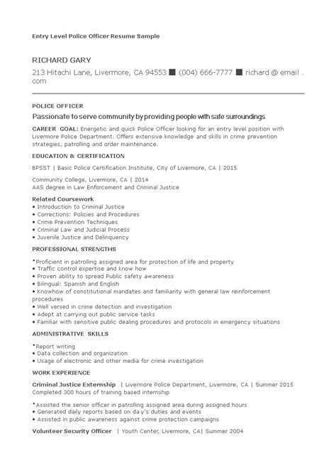police officer resume example billing clerk resume dravit si resume examples writing objective for resume law
