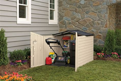Lawn Mower Storage Sheds