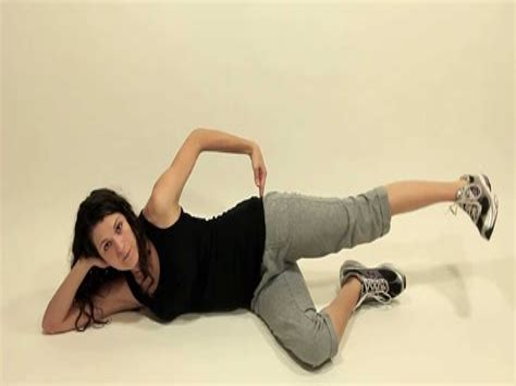 laying on back hip flexor stretch video tumblr