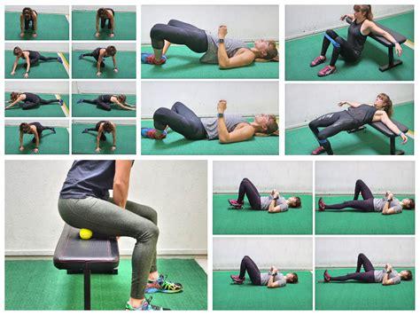 laying on back hip flexor stretching program