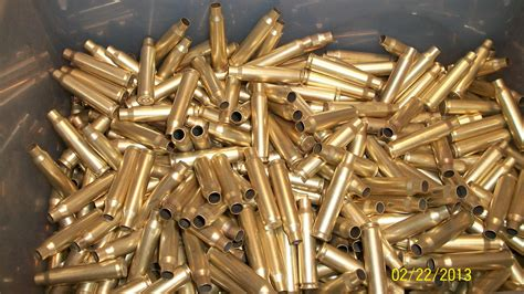 Brass Lc 5.56 Once Fired Brass.