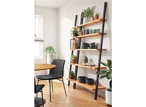 Leaning Shelf Unit