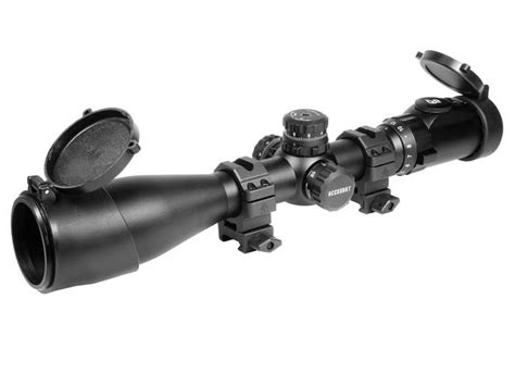 Rifle-Scopes Leapers Utg 3-12x44ao Swat Rifle Scope.