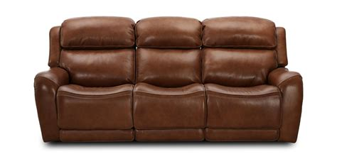 Leather Sofa Cleaner Cole Leather Reclining Sofa Dark Brown   Raymour   Flanigan